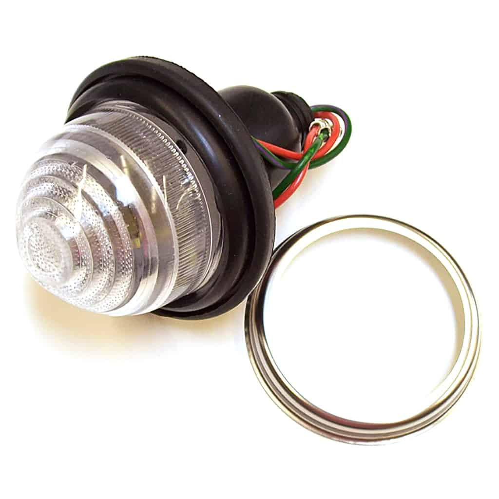 Front Indicator Lamp, Dual Function, Plastic