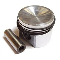 Piston, 1275cc, AE/Nural, 8.8:1 CR