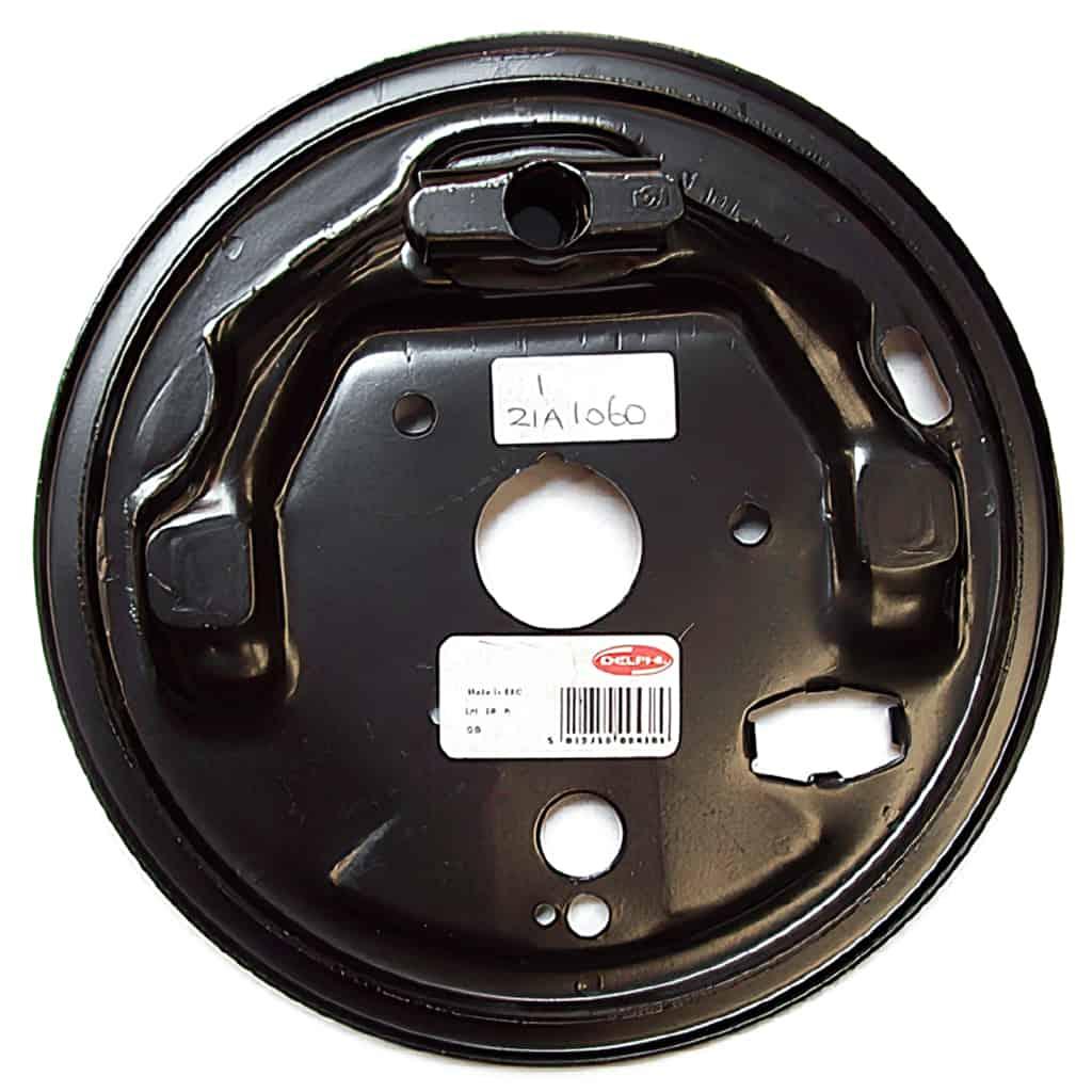 Rear Brake Backing Plate, Left Hand