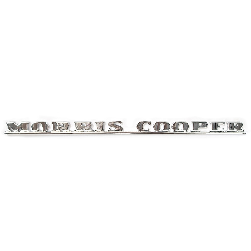 Boot Badge, Mk1, Morris Cooper