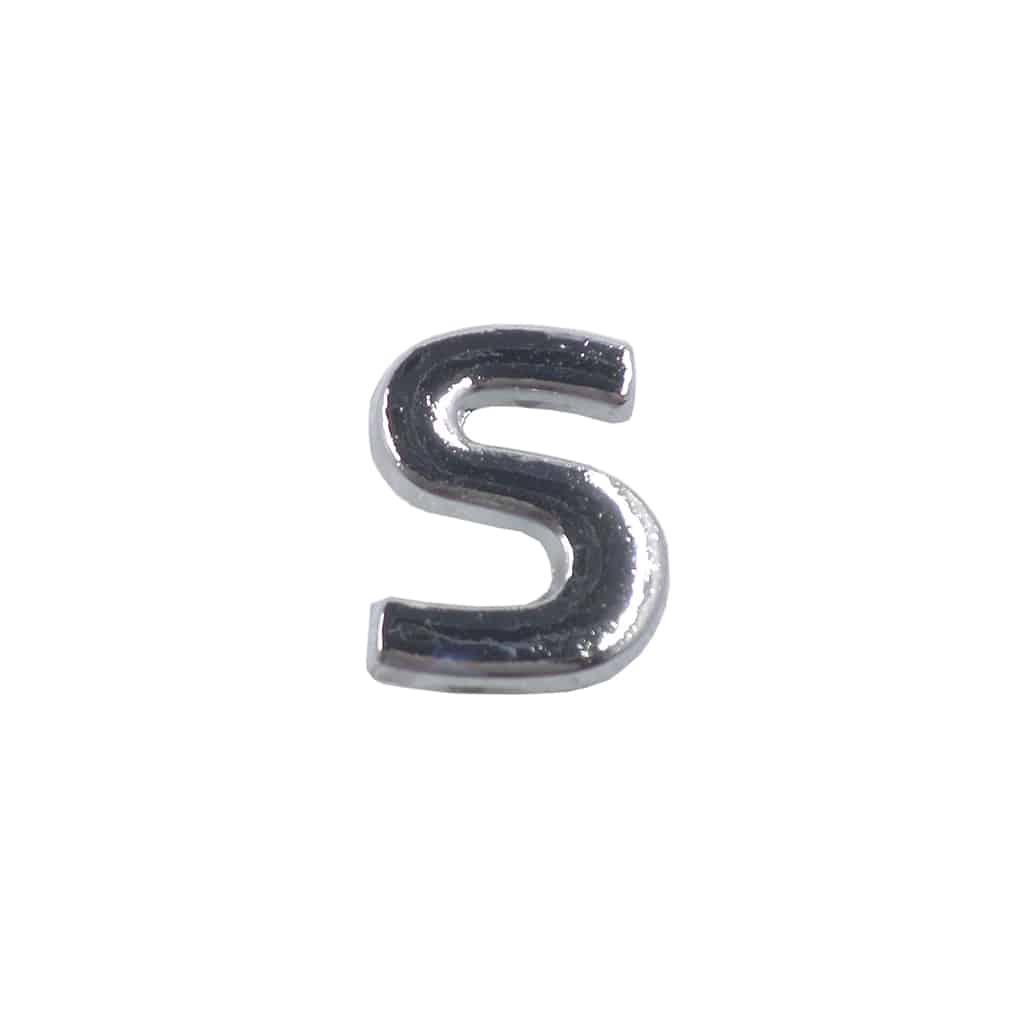 "Bonnet Badge, Small ""S"""