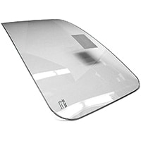 Laminated Windscreen, Triplex, clear