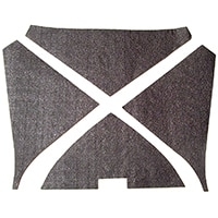 Bonnet Soundproofing Pad Set