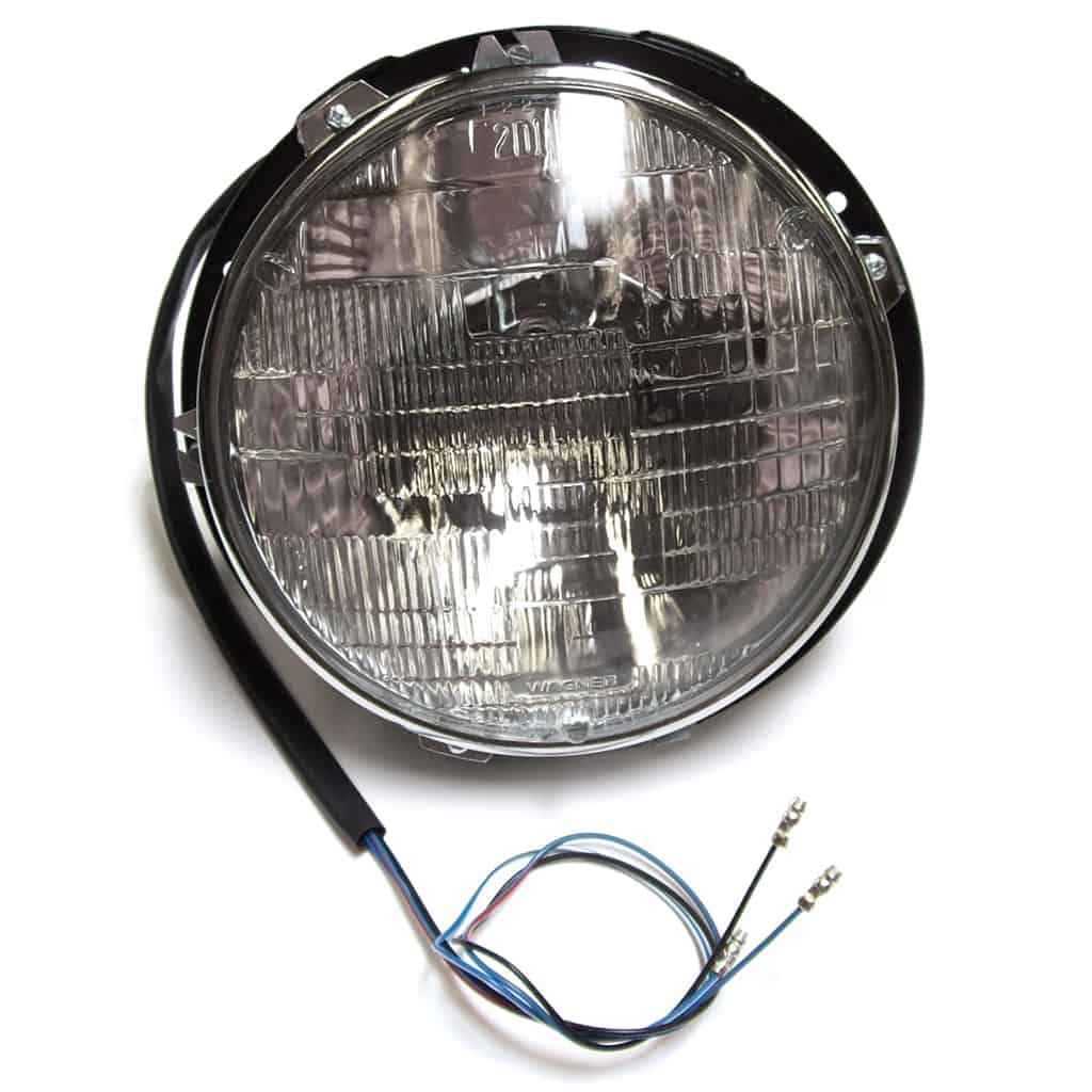 Headlamp Assembly, with Bucket