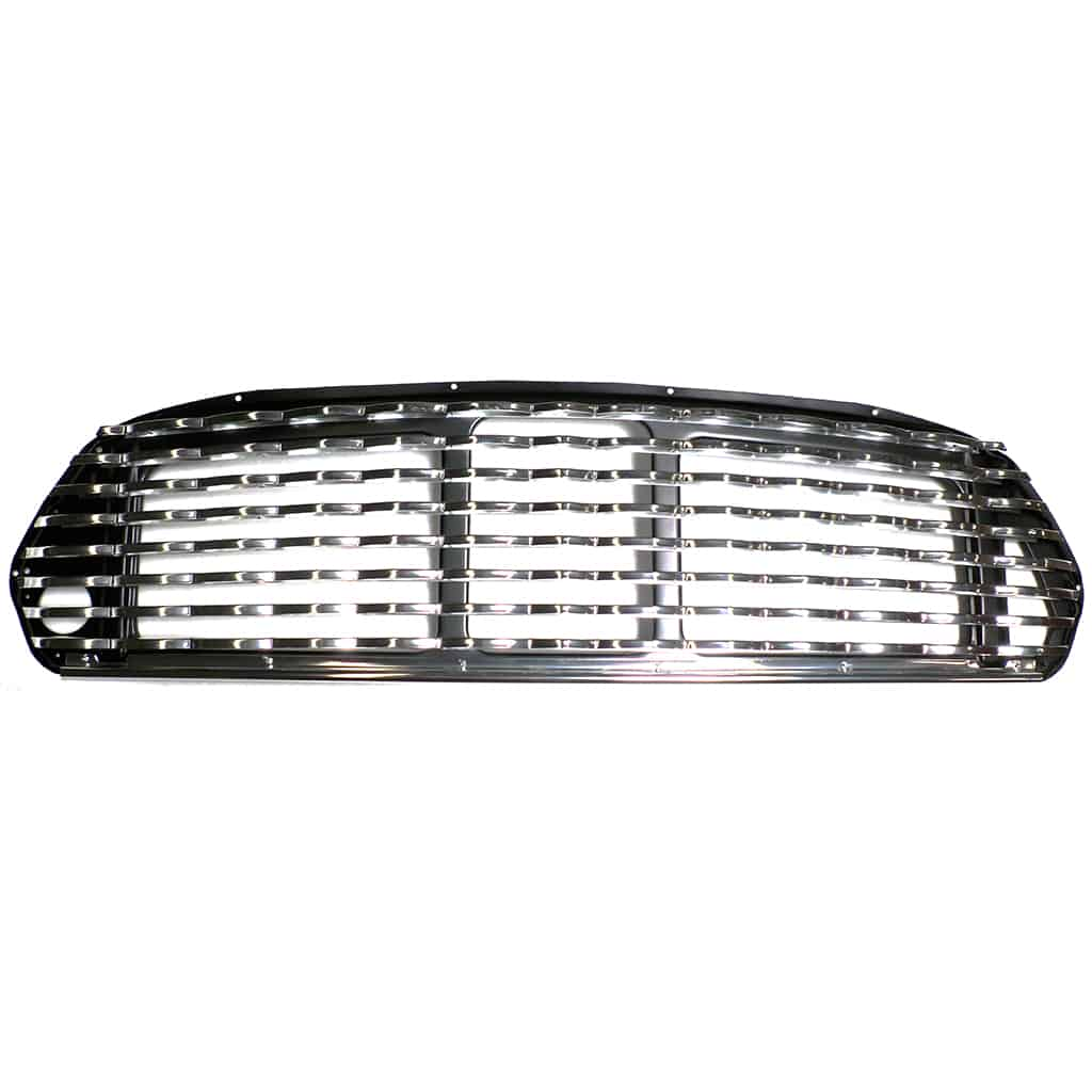Grille, Mk2-on, Wavy, internal bonnet release