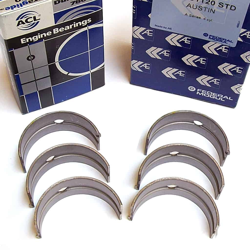 Main Bearing Set, 1275/1300, pre A+, heavy-duty