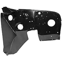 Inner Front Fender (Wing), Right Hand, w/ Hinge Panel
