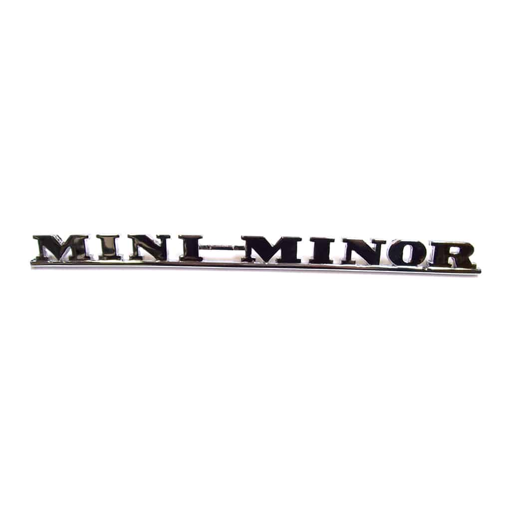 Boot Badge, Mini-Minor Script
