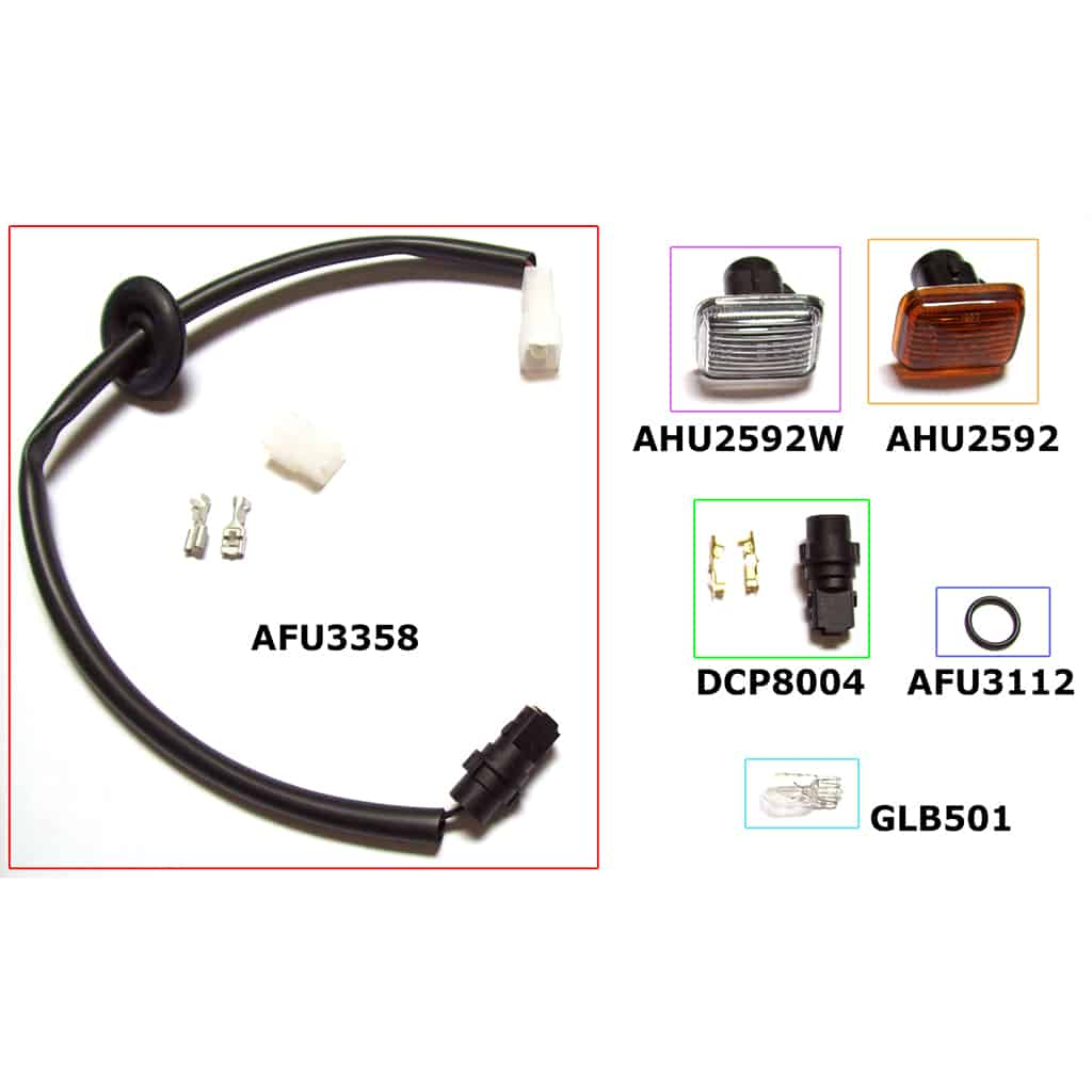 AFU3358 wiring harness components