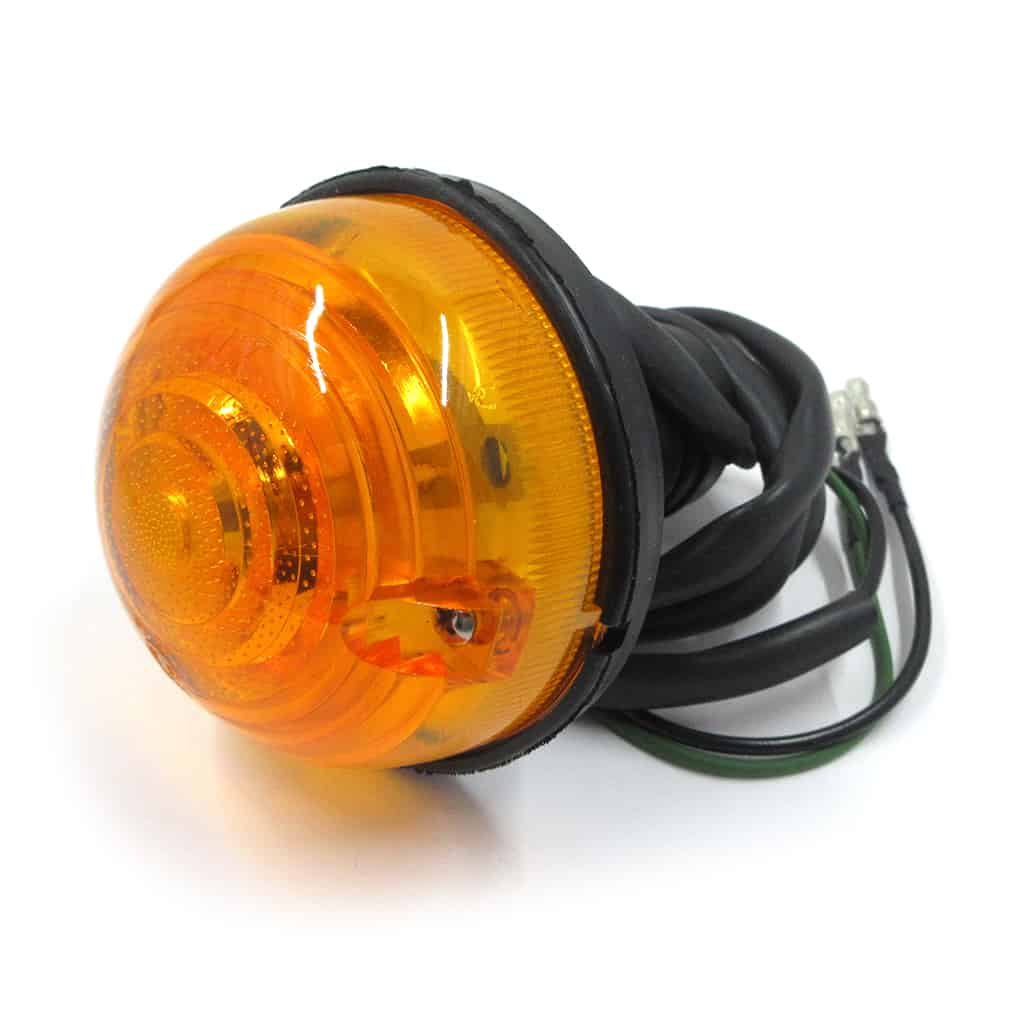 Front Indicator Lamp, 1987-on, amber