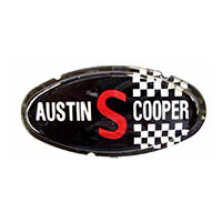 Bonnet Badge, Mk2 Austin Cooper S