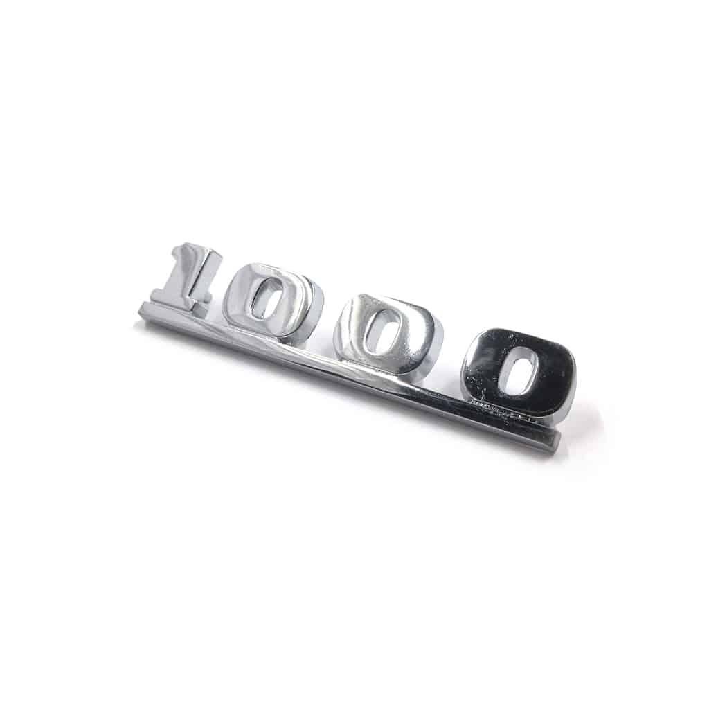 "Boot Badge, ""1000"""