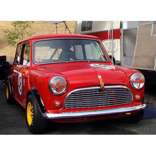 Austin Mini Vintage Race Car (AUSTINMINI48) - AUSTINMINI48