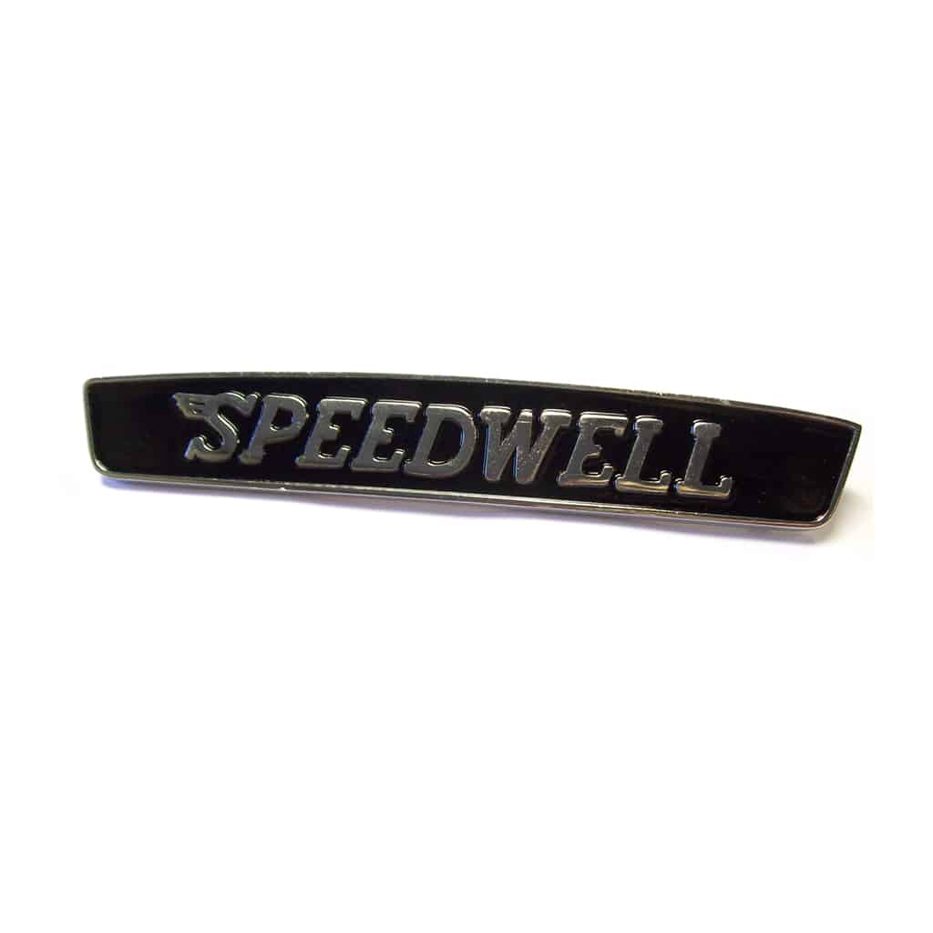 Bonnet Badge, Speedwell