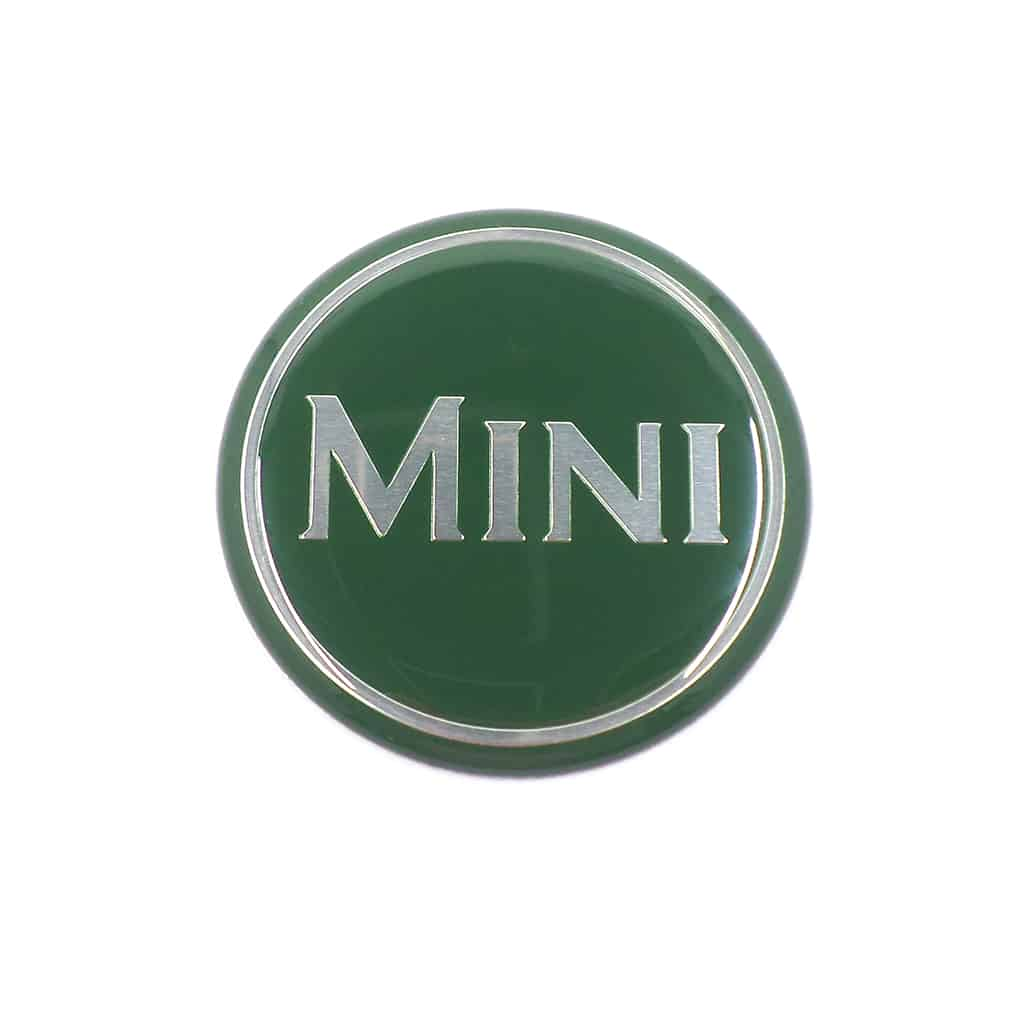 "Emblem, Bonnet Badge or Center Cap, ""Mini"""