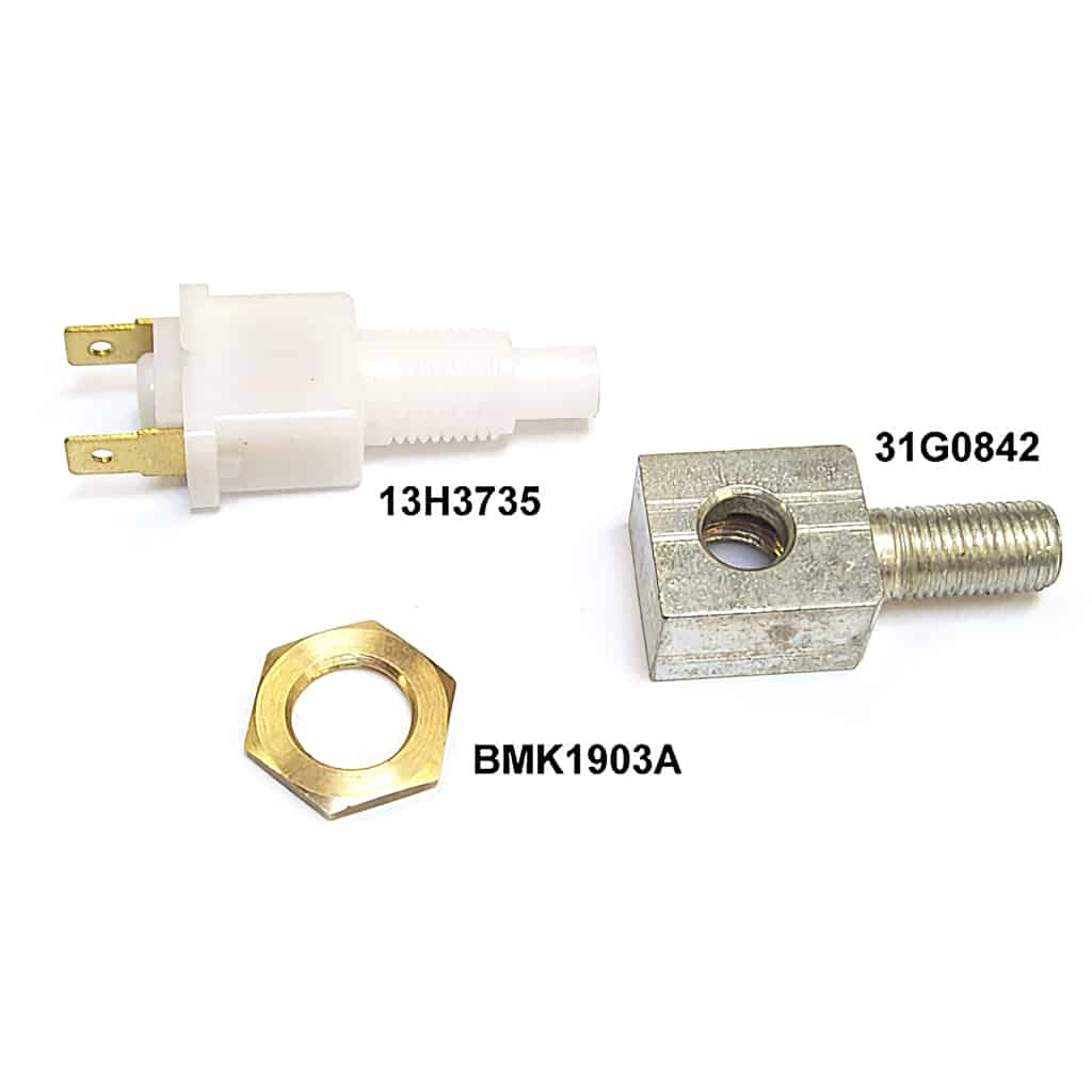 Brake light switch components