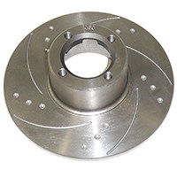 "Brake Rotor, 8.4"", dimpled & slotted, Pair"