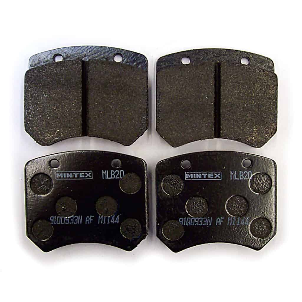 Brake Pads, Cooper S, Mintex Racing, M1144