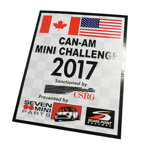 Can-Am Mini Challenge 2017 Decal