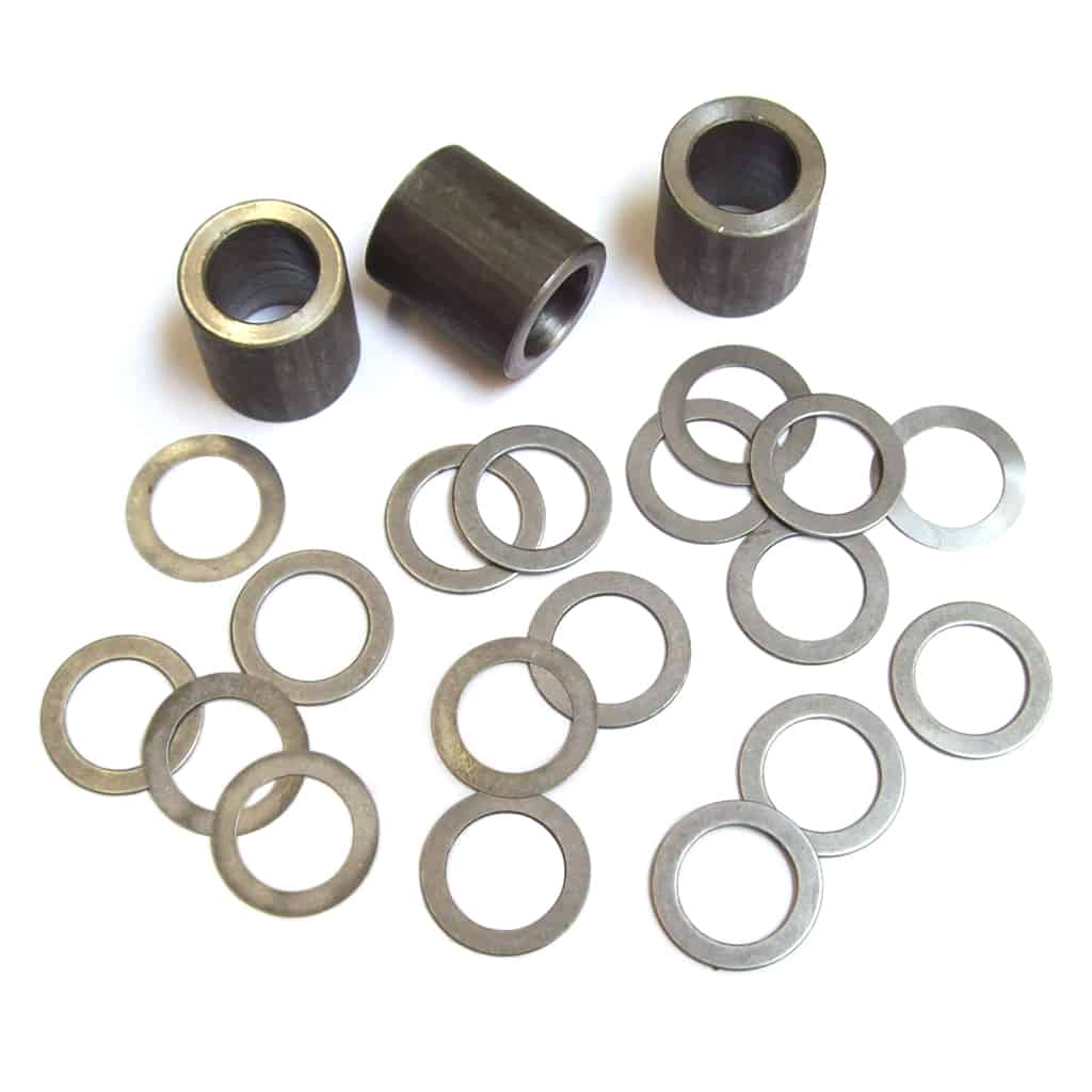 Rocker Spacer Kit, w/ Spacers & Shims