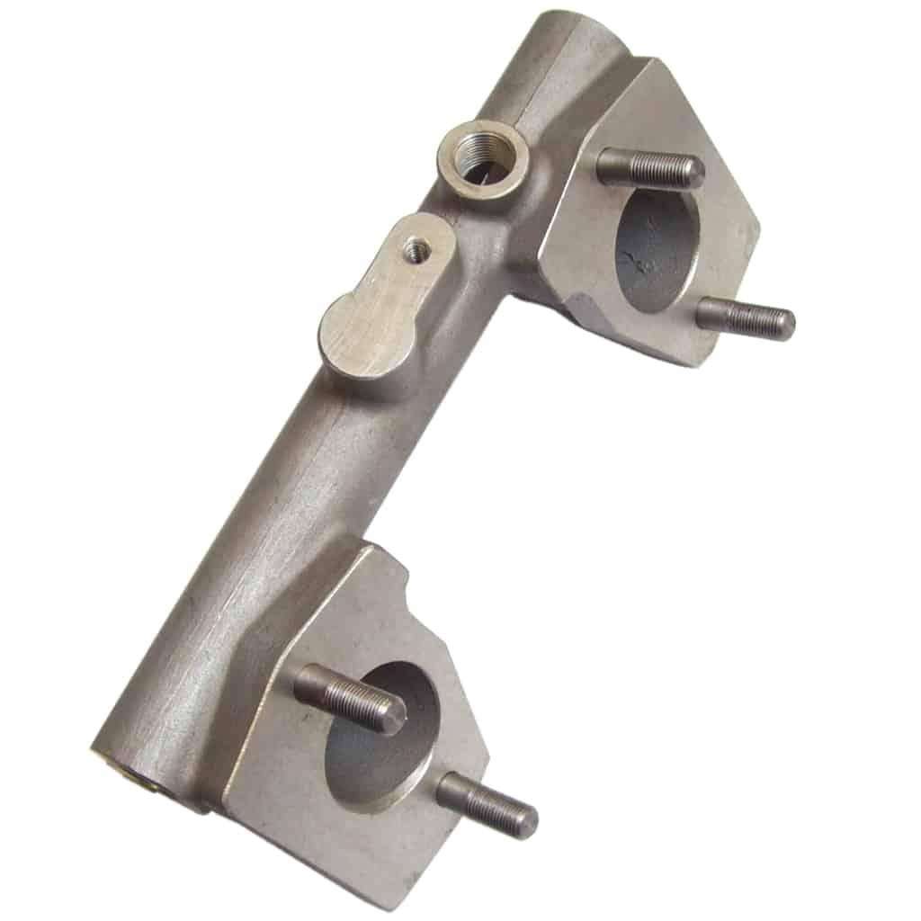 Manifold, Intake, Twin HS2 Carbs