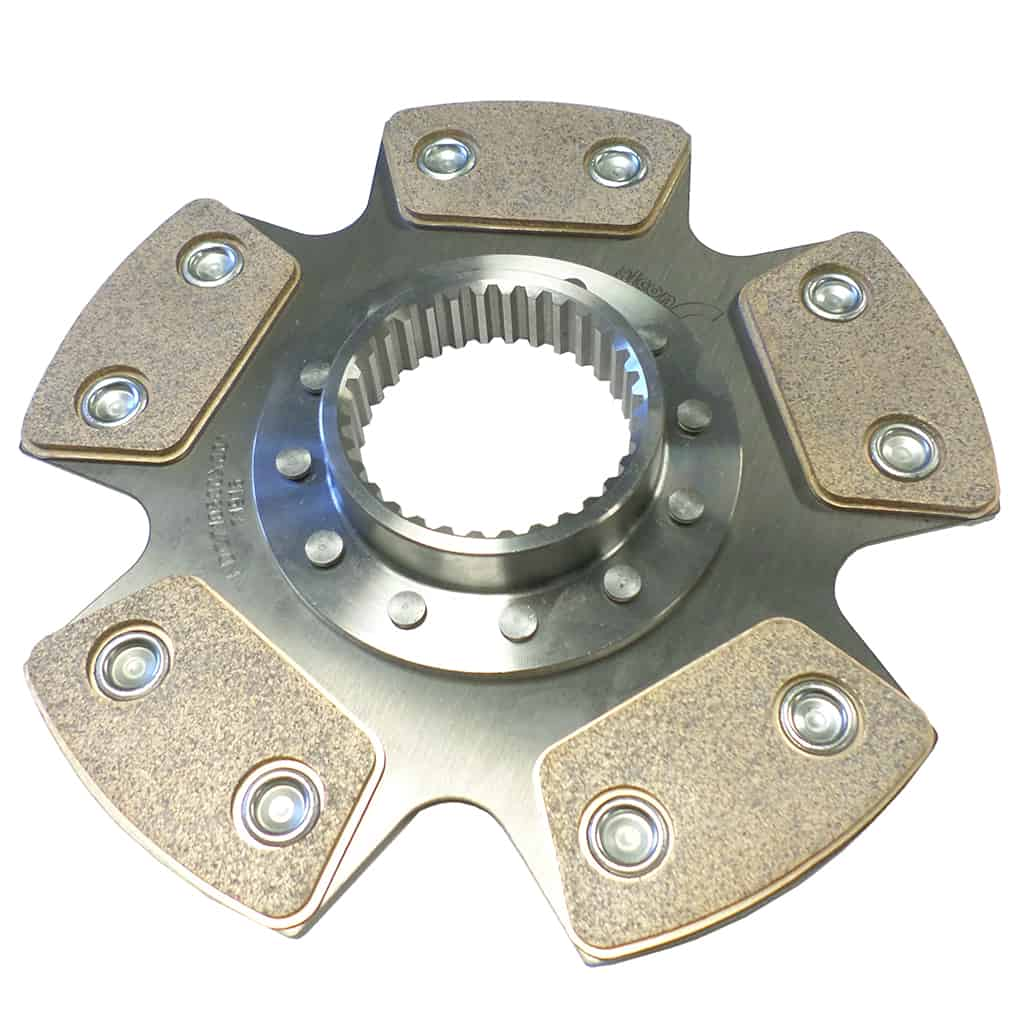 Clutch Disc, Full Race, Sintered Lining