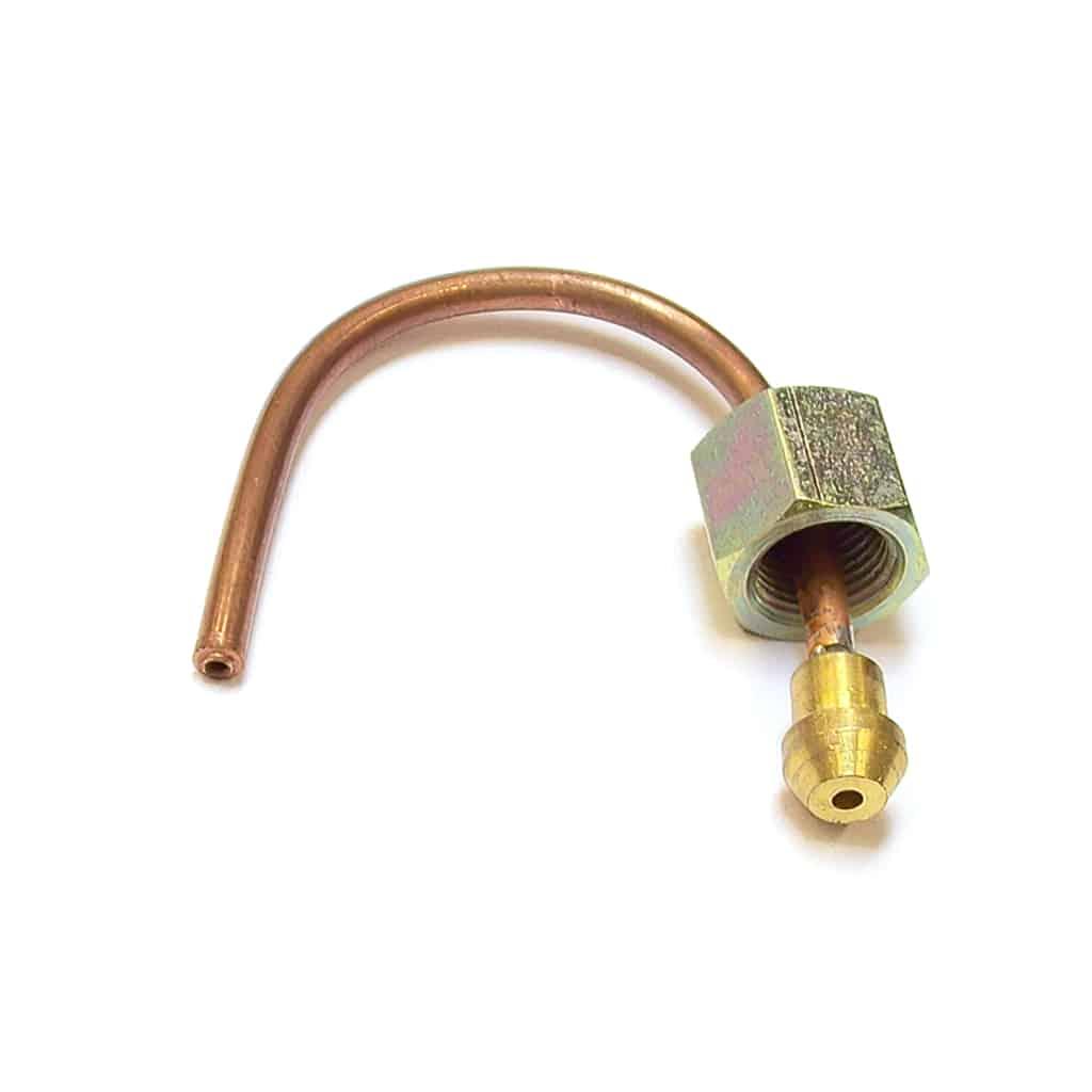 Oil Gauge Pipe, engine to flex hose