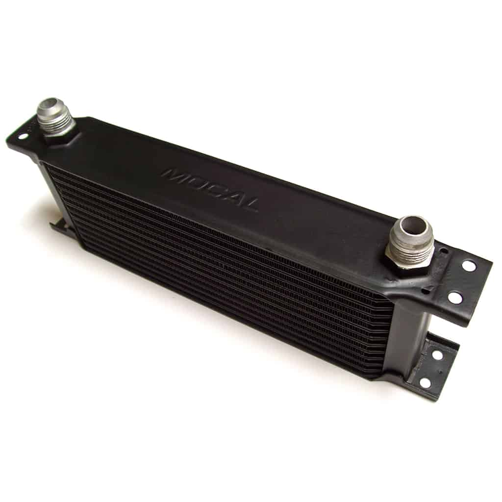 Oil Cooler, 13-Row, AN fittings
