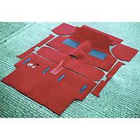 Deluxe Moulded Carpet Set, Estate to 1973