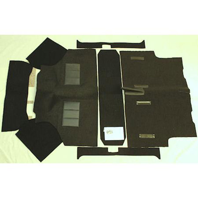 CK960 carpet set, in (A) Black