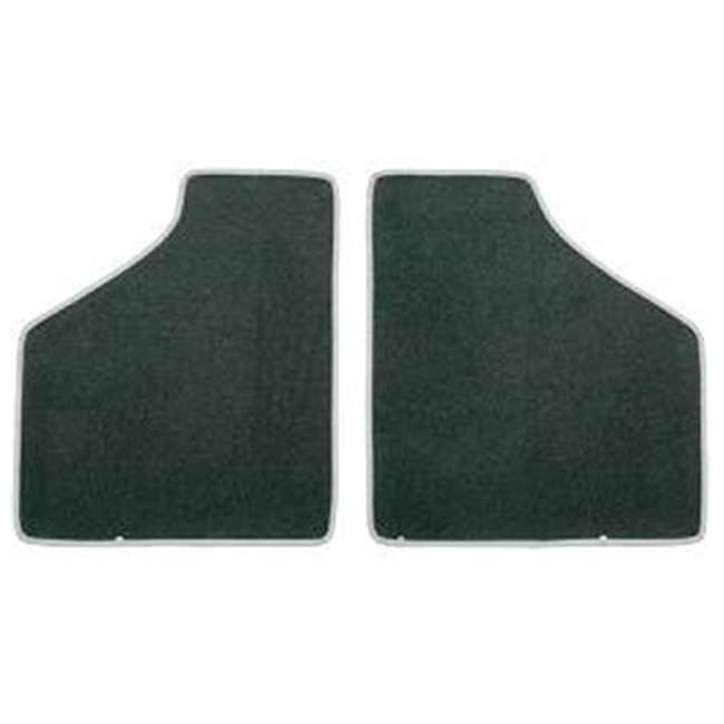 Floor Mat Set, 2-piece Deluxe, 1973-2000