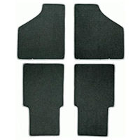 Floor Mat Set, 4-piece, 1973-2000