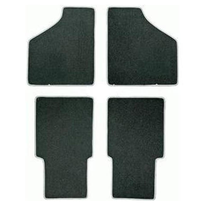 Floor Mat Set, 4-piece Deluxe, Saloon, 1959-1973