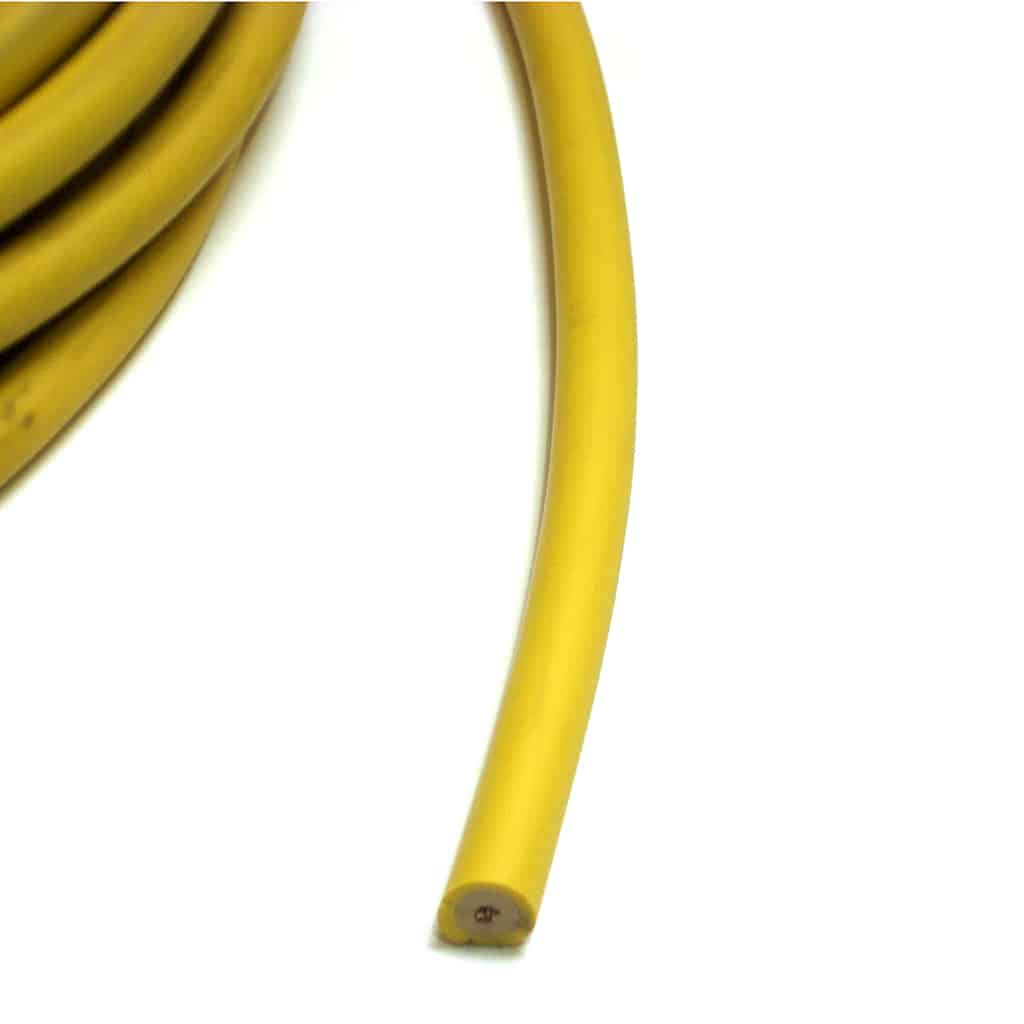 Ignition Wire, Solid Core, Lucas Yellow (CQB204-YELLOW) | Seven ...