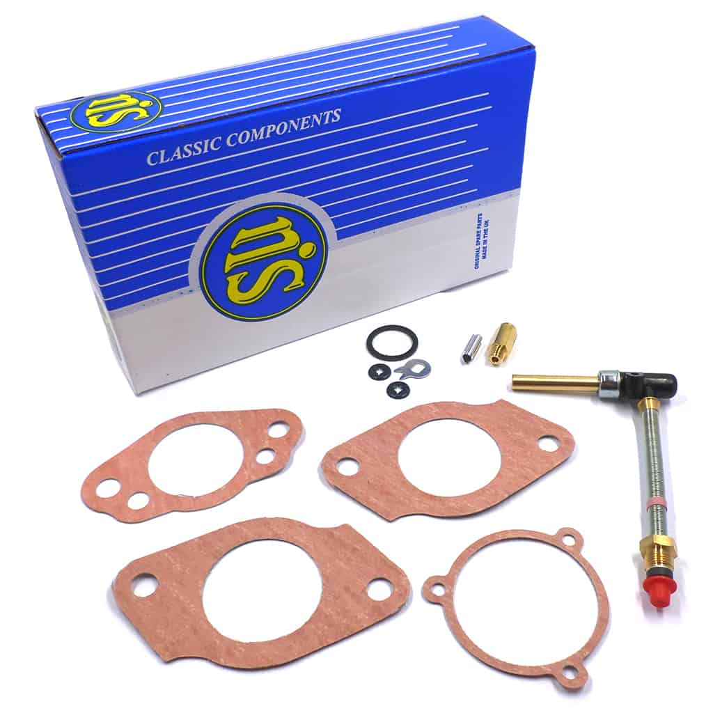 Carb Service Kit, HS4, single, plastic jet