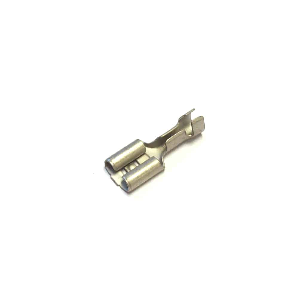 "Electrical Female Terminal, 1/4"" Small"