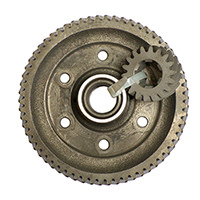 Final Drive Gear Set, 3.44 A+, Used