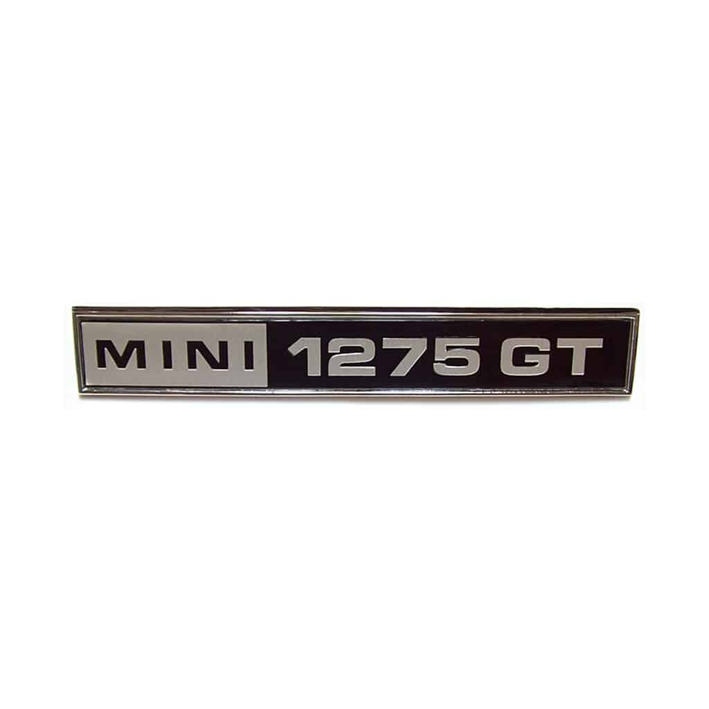 Boot Badge, Clubman, 1275GT
