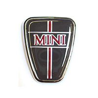 Bonnet Badge, Mini, grey background