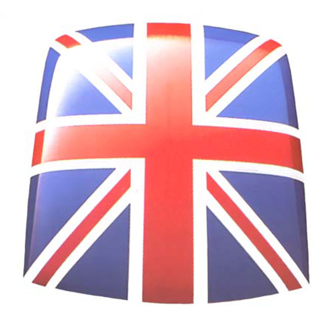 Roof Decal, Union Jack