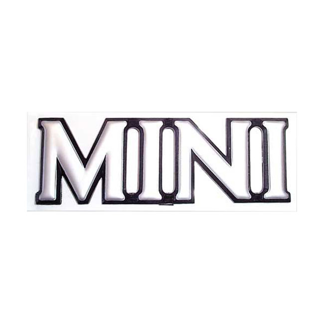 """MINI"" boot badge"