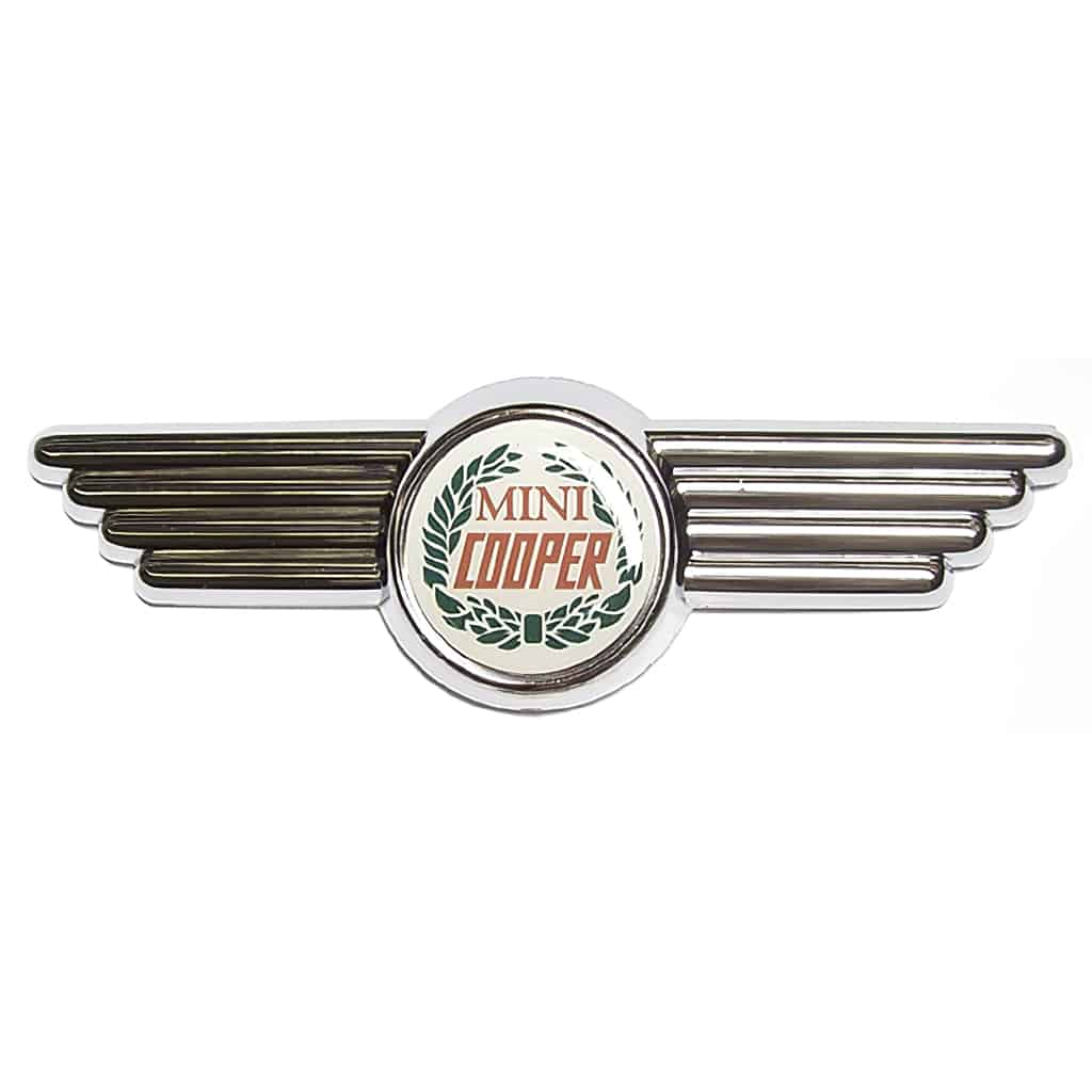 Bonnet & Boot Badge, Mini Cooper