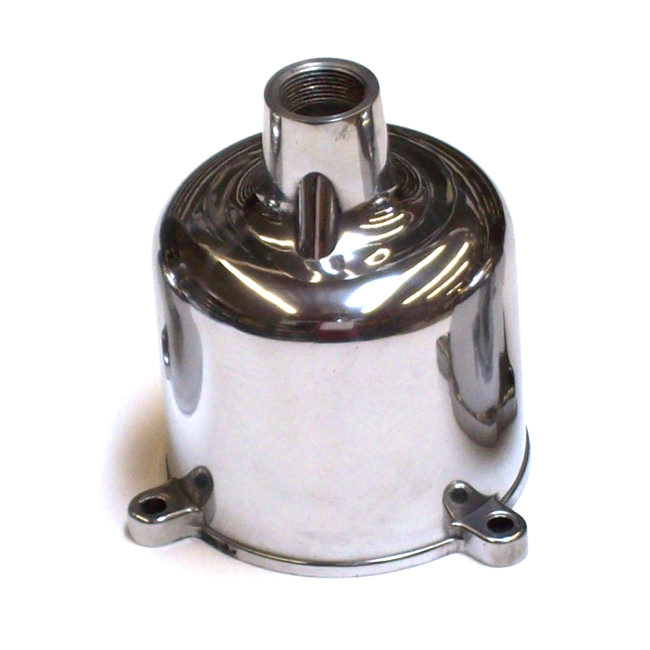 SU Carburetor Dashpot, Polished HS4