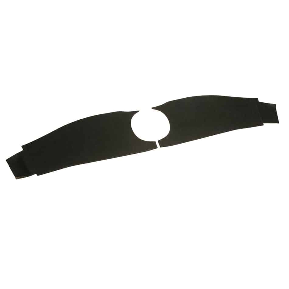 Dashboard Trim Panels,  1962-1967, Oval Binnacle