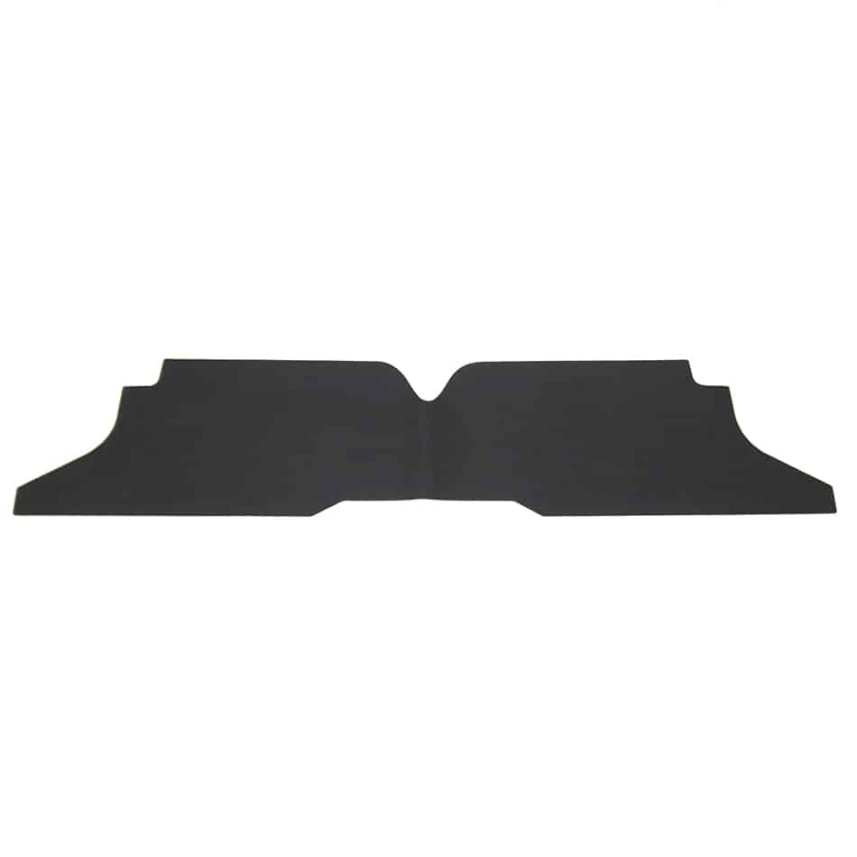 Padded dash tray liner, shown in DT3022A black