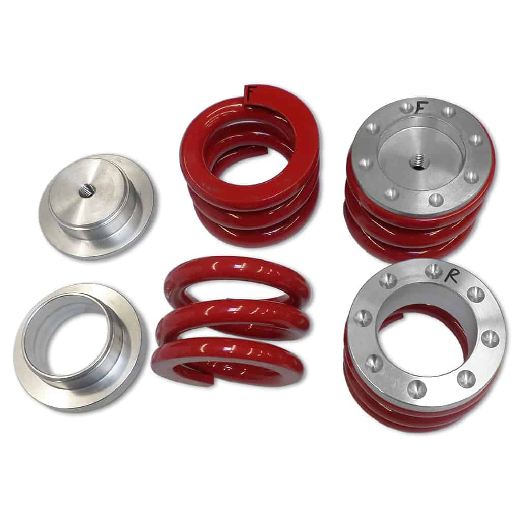 Coil Spring Conversion Kit, Red