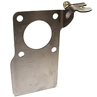 HIF carb linkage plate, stainless