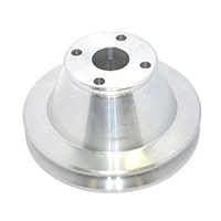 Water Pump Pulley, Large Diameter Aluminum