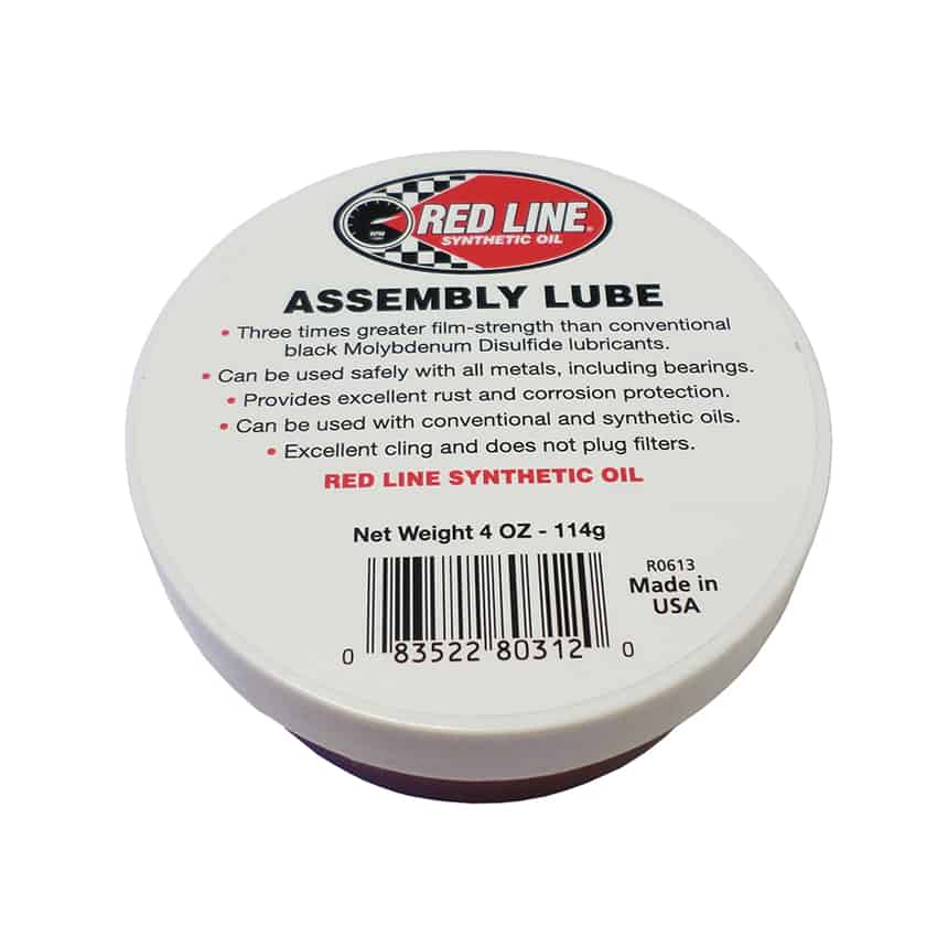 Red Line Assembly Lube