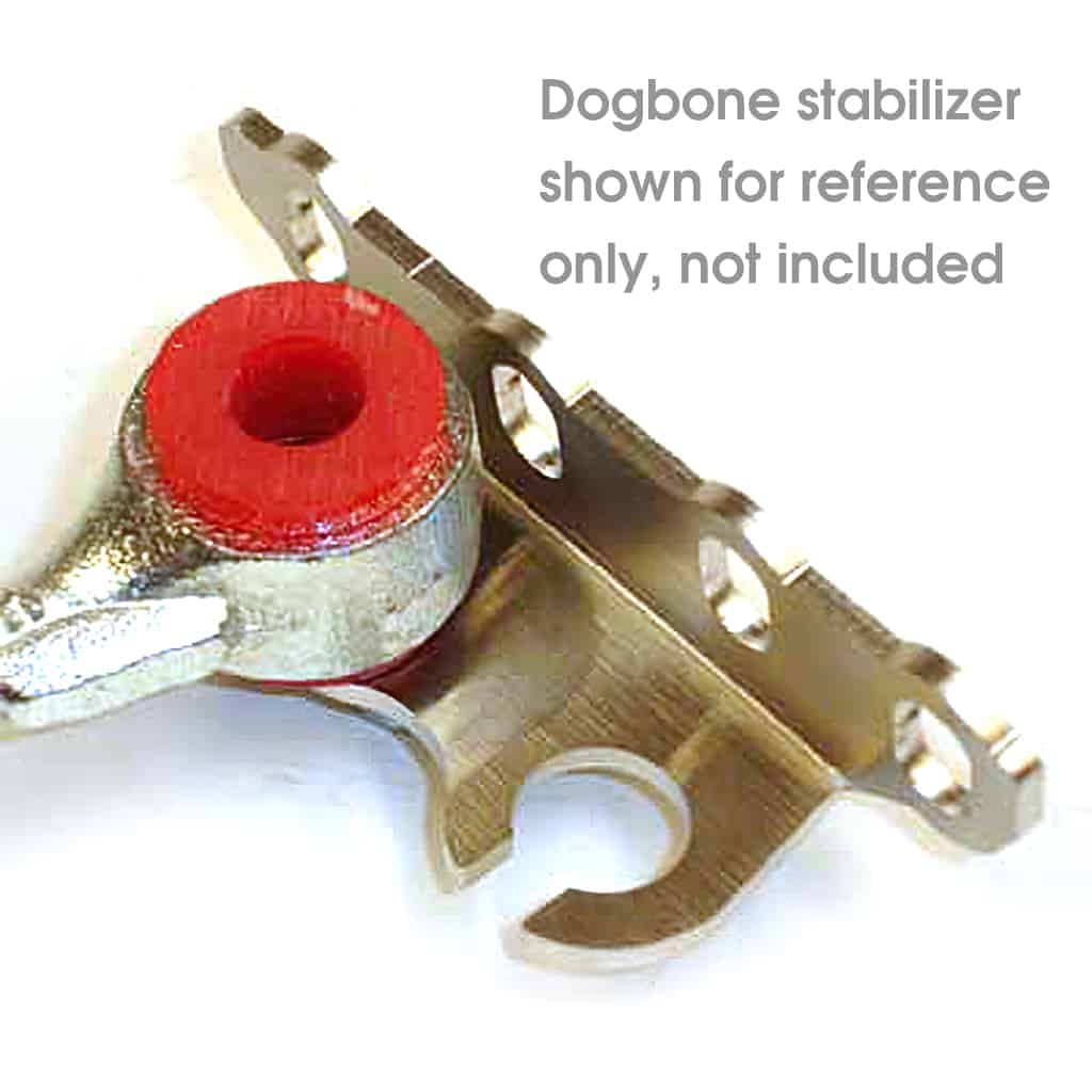 FOR075; dogbone stabilizer shown for reference only, not included